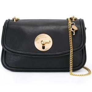 See by Chloé Black Mini Clasp Bag